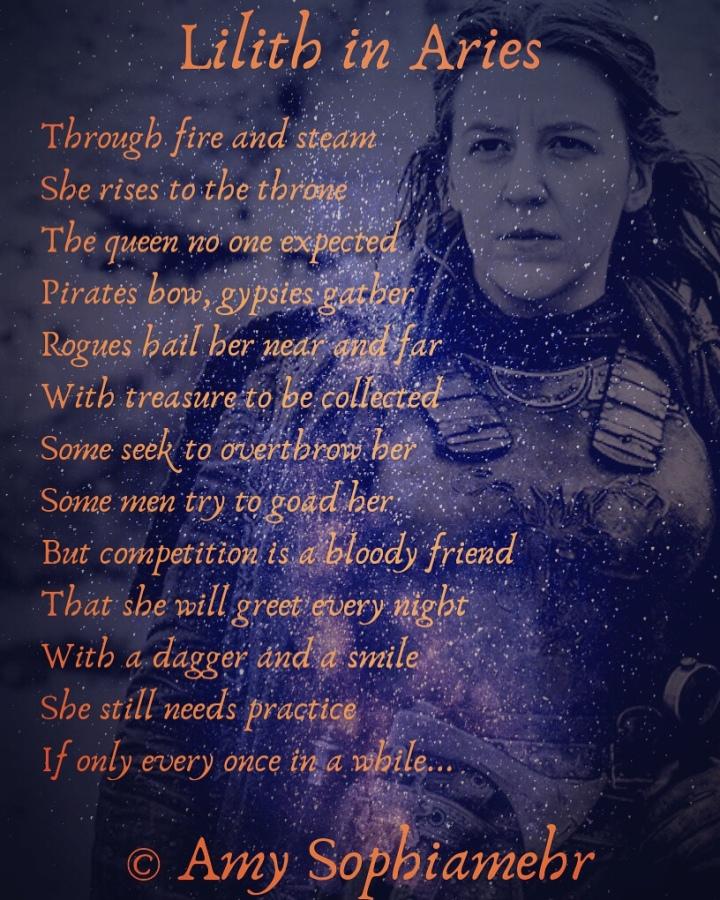 Lilith – Pagan Poetess – Amy Sophiamehr